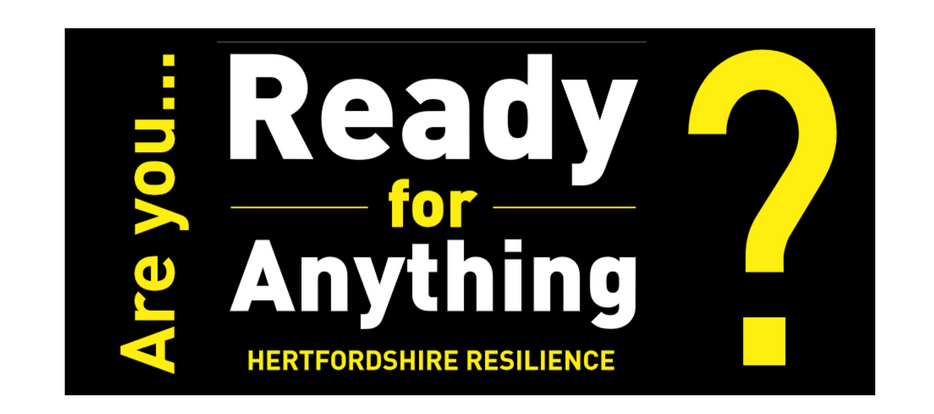 Copywriting example: Hertfordshire Resilience