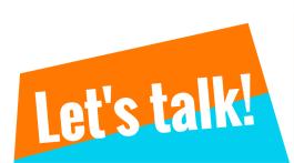 Let's talk! (2)