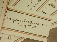 handmade business card