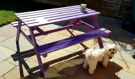 where to work purple bench